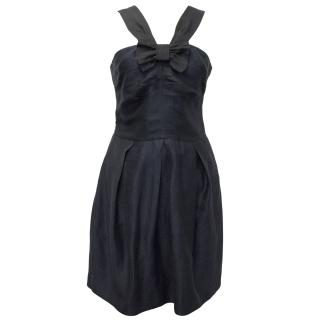 Claudie Pierlot Navy Bow Dress