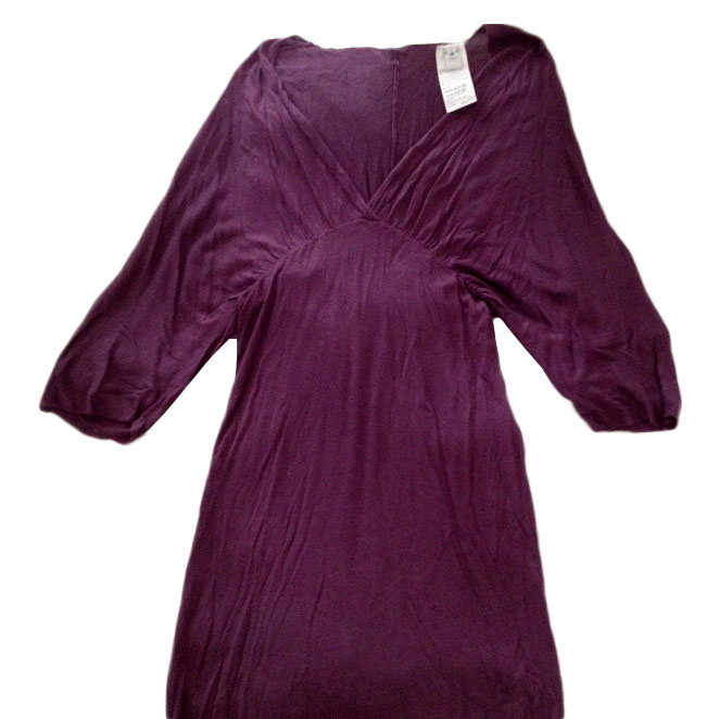 Dolce And Gabbana Aubergine Dress Hewi