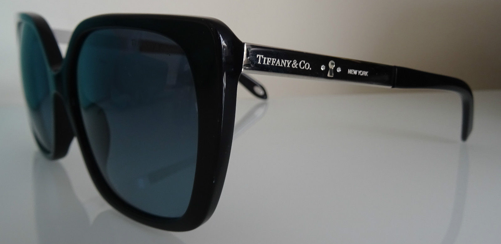e9c72ac03b8 Tiffany 4074b Locks Black Butterfly Sunglasses