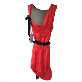 Roksanda Ilincic for Whistles red and pink silk dress (RARE)