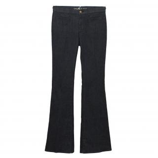 Mih Marrakesh Dark Blue Flared Jeans