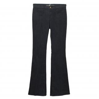 Mih Marrakesh Dark Blue Flared Jeans