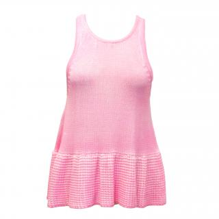 Finders Keepers 'Stepping Stone' Pink Knitted Top