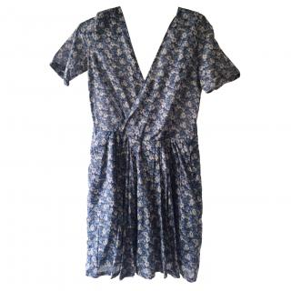 The Kooples Blue Floral Dress