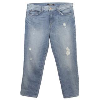 J Brand 'Ace Illume' Light Wash Boyfriend Jeans