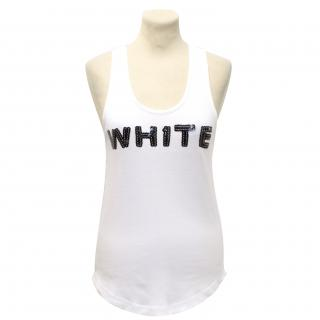 Sonia Rykiel White Vest Top
