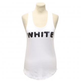 Sonia Rykiel White Vest Top