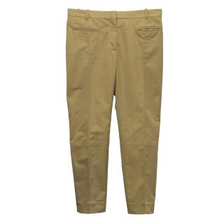 Celine Camel Chino Trousers