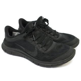 Nike Free Run ID Black Trainers