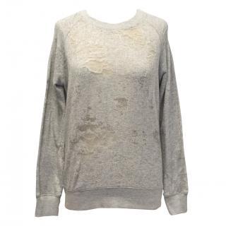 Iro Jeans Distressed Sweatshirt