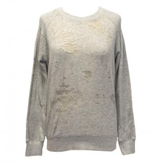 Iro Jeans Distressed Sweatshirt