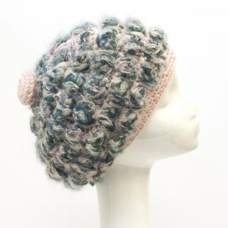 Missoni Pink and Blue Knitted Hat