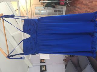 Betsy Johnson Blue Evening dress.