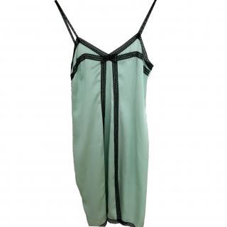Paul & Joe green lace dress