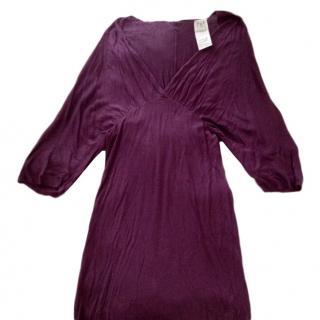 Dolce and Gabbana aubergine Dress