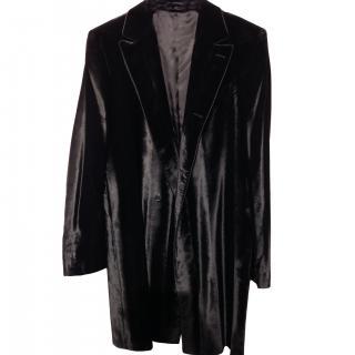 COSTUME NATIONAL Velour Coat