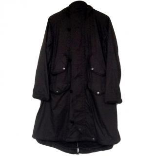 Ralph Lauren Black Parka Coat