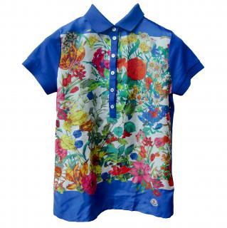 Moncler Flower Polo