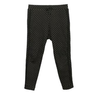 Elizabeth and James Polka Dot Track Bottoms