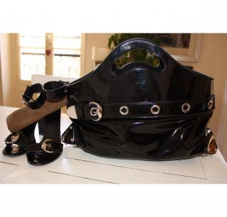 Big black Gucci bag