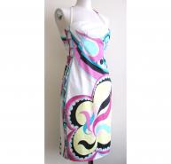 Pucci Strapless Cocktail Dress