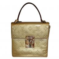 Louis Vuitton gold handbag
