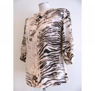 Mulberry animal print silk shirt