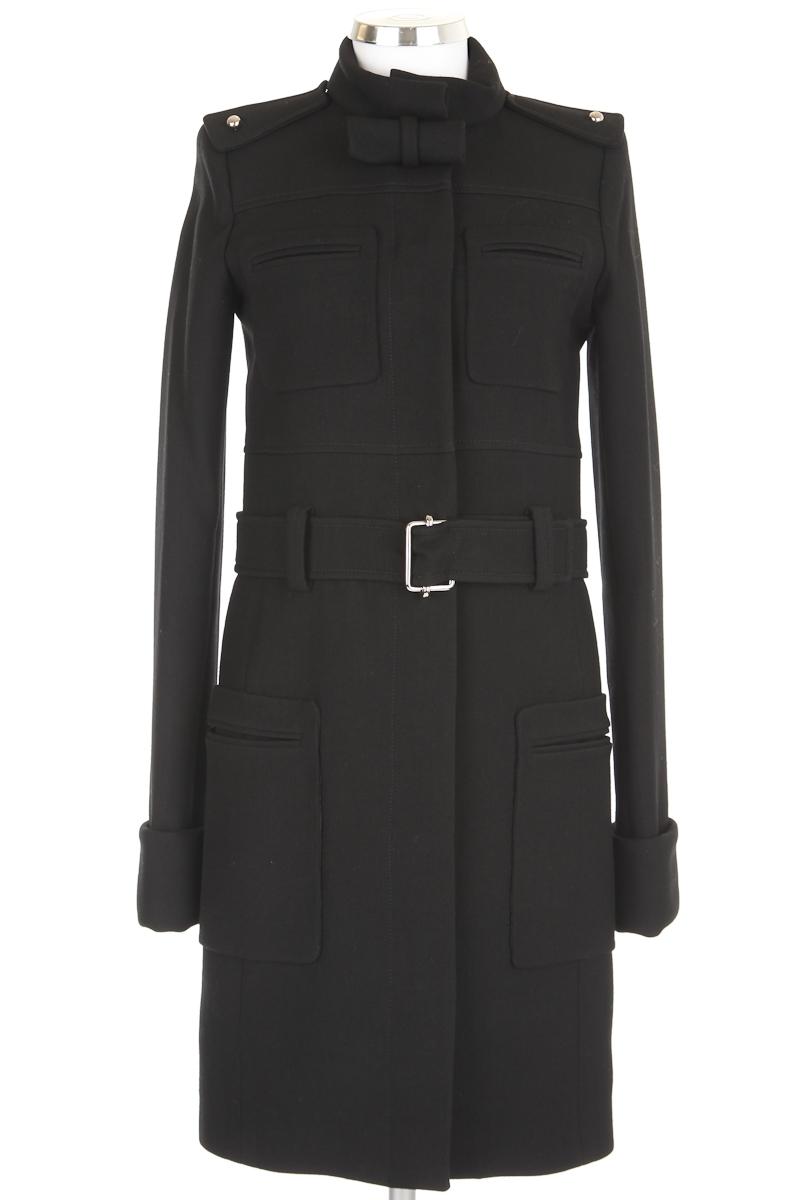 Balenciaga Black Wool Coat