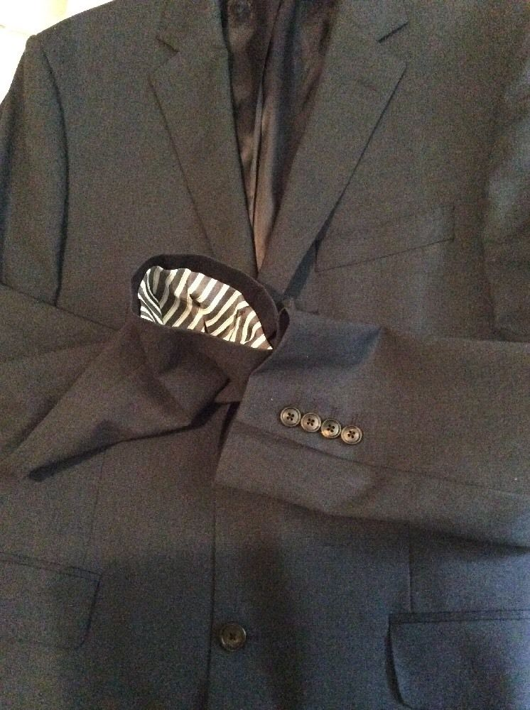 Austin Reed Blue Pindot Westminster Jacket Hewi