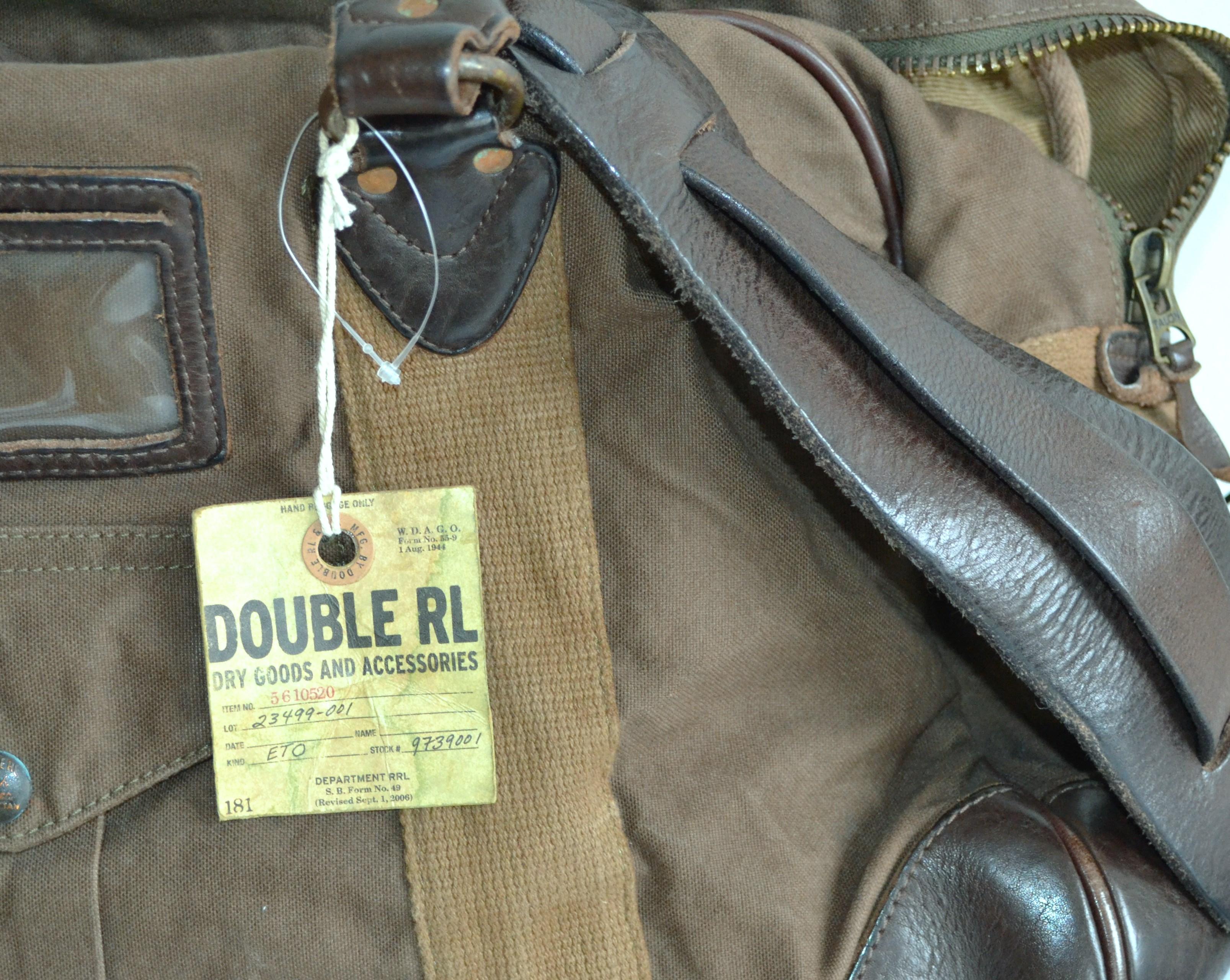 519d8454eb RRL Double RL Ralph Lauren bag. 29. 12345678
