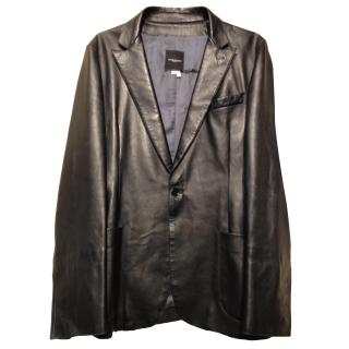 Costume National leather jacket