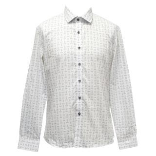 Definitive White Cobblestone Poplin Shirt
