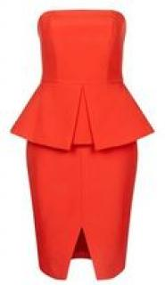 Finders Keepers Strapless Peplum XS Dress