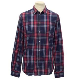 Filippa K Slim Fit Checked Shirt