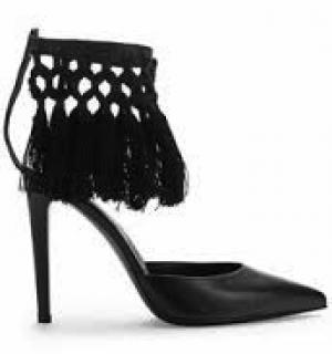 Altuzarra Triton Macrame heels
