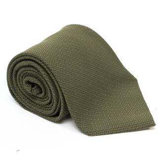 Calvin Klein Green Silk Tie