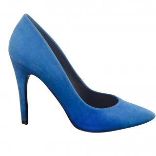 Barbara Bui blue pumps
