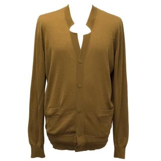 Pringle of Scotland Merino Wool Camel Cardigan