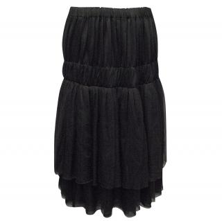 Comme des Garcons Black Skirt