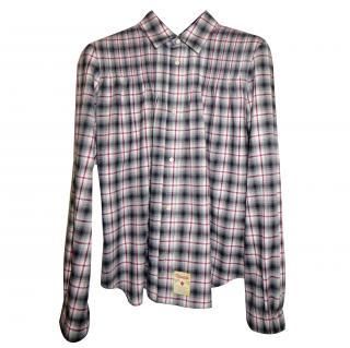DSquared2 plaid artist shirt