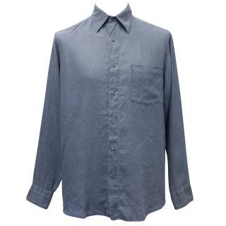 J.Crew Blue Linen Shirt