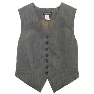 J Peterman Company Wool Blend Waistcoat