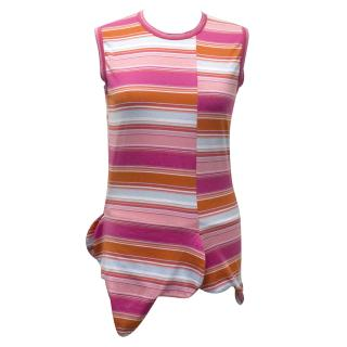 Comme des Garcons Striped Sleeveless Top