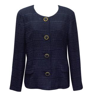 Fendi Navy Blue Blazer