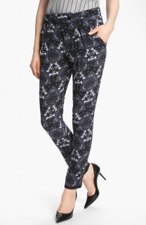A.L.C Blue Jasper Print Silk Pants