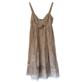 Anna Sui lace dress