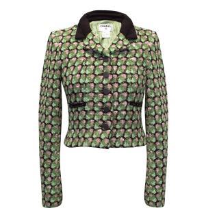 Chanel Boucle Green Jacket