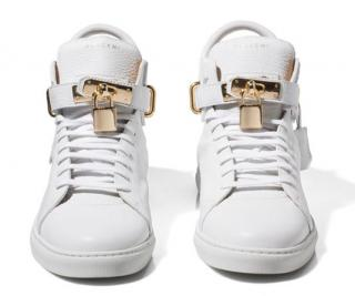 Buscemi White Trainers 100mm