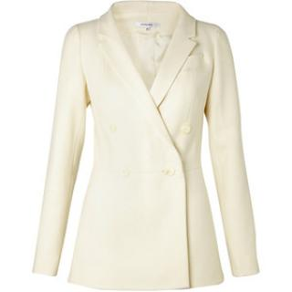 Carven cream double breasted jacket
