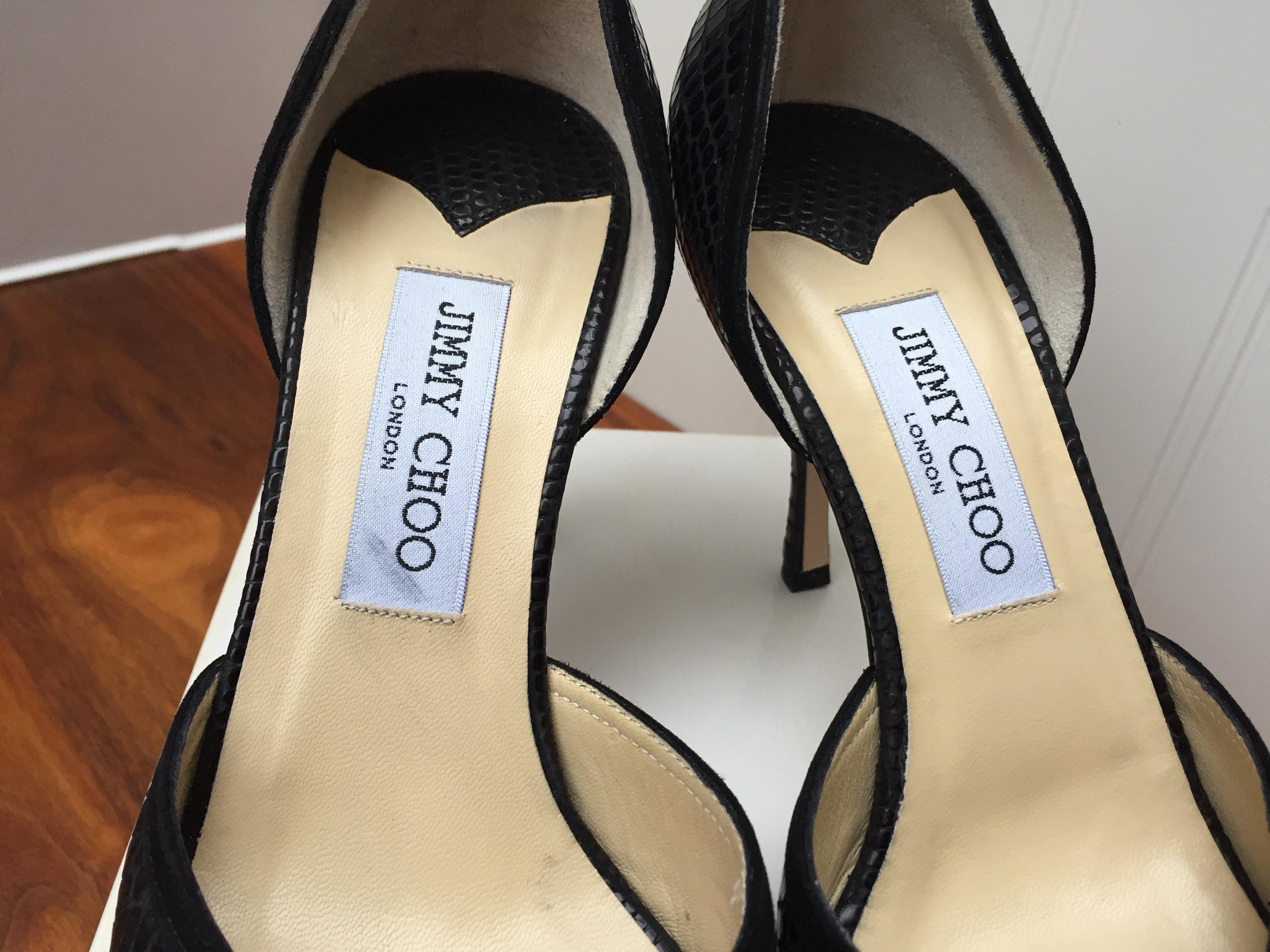 Jimmy Choo Black Sandals051072 | HEWI